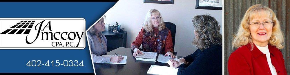 Certified Public Accountant - Omaha, NE - J A McCoy CPA, P.C.