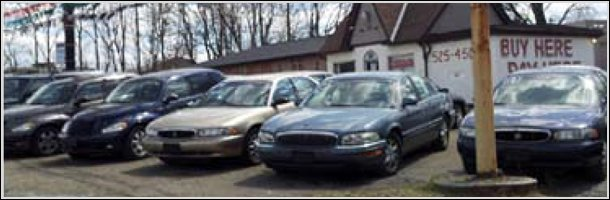 Bunch of used cars available for trade