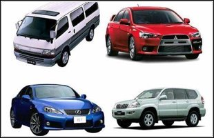 A variety of high quality vehicles