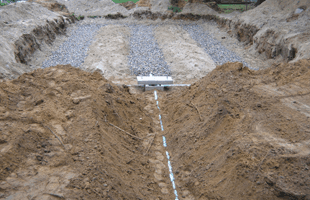 New septic Construction
