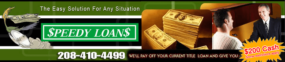 Payday Loan - Twin Falls, ID - Speedy Loans