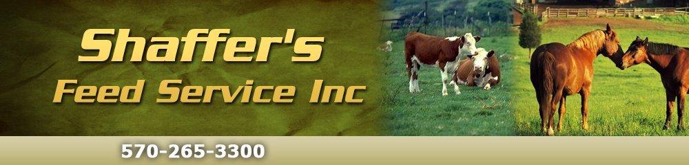 Animal Feeds - Monroeton, PA - Shaffer's Feed Service Inc