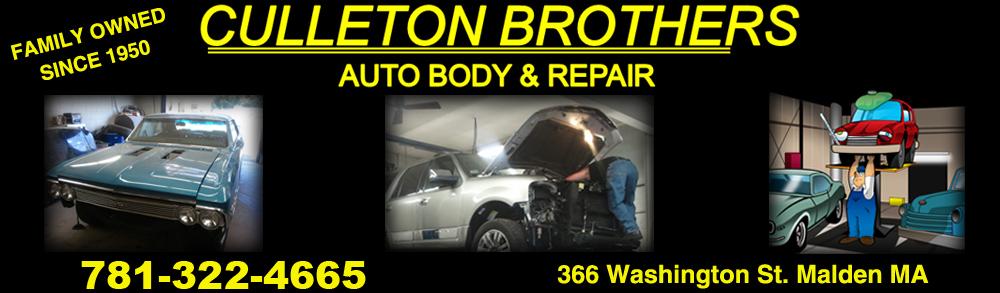 Auto Technician - Malden, MA - Culleton Brothers Auto Body & Repair