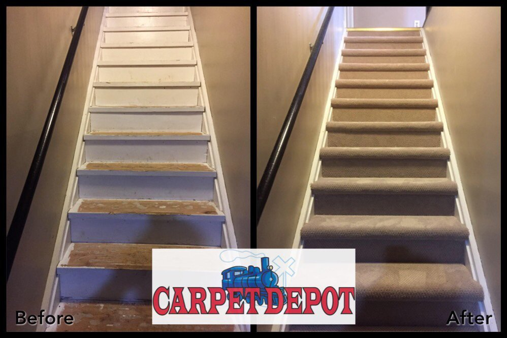 Before And After Photos Of Residential Stairs