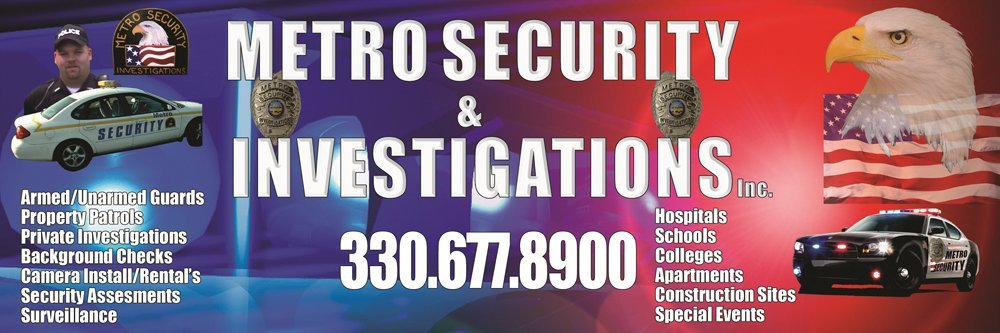 Security Service Kent, OH - Metro Security & Investigations