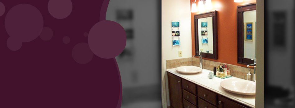 Modernized and one of a kind bathroom