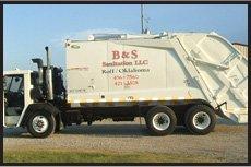 Residential Trash Removal | Ada, OK | B & S Sanitation | 580-235-0233
