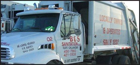 Commercial Trash Removal | Roff, OK | B & S Sanitation | 580-456-7560