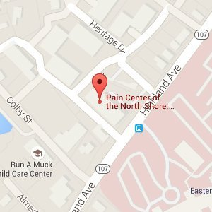 84 Highland Ave.- Suite 301 Salem,  MA   01970 | Pain Center Of The North Shore