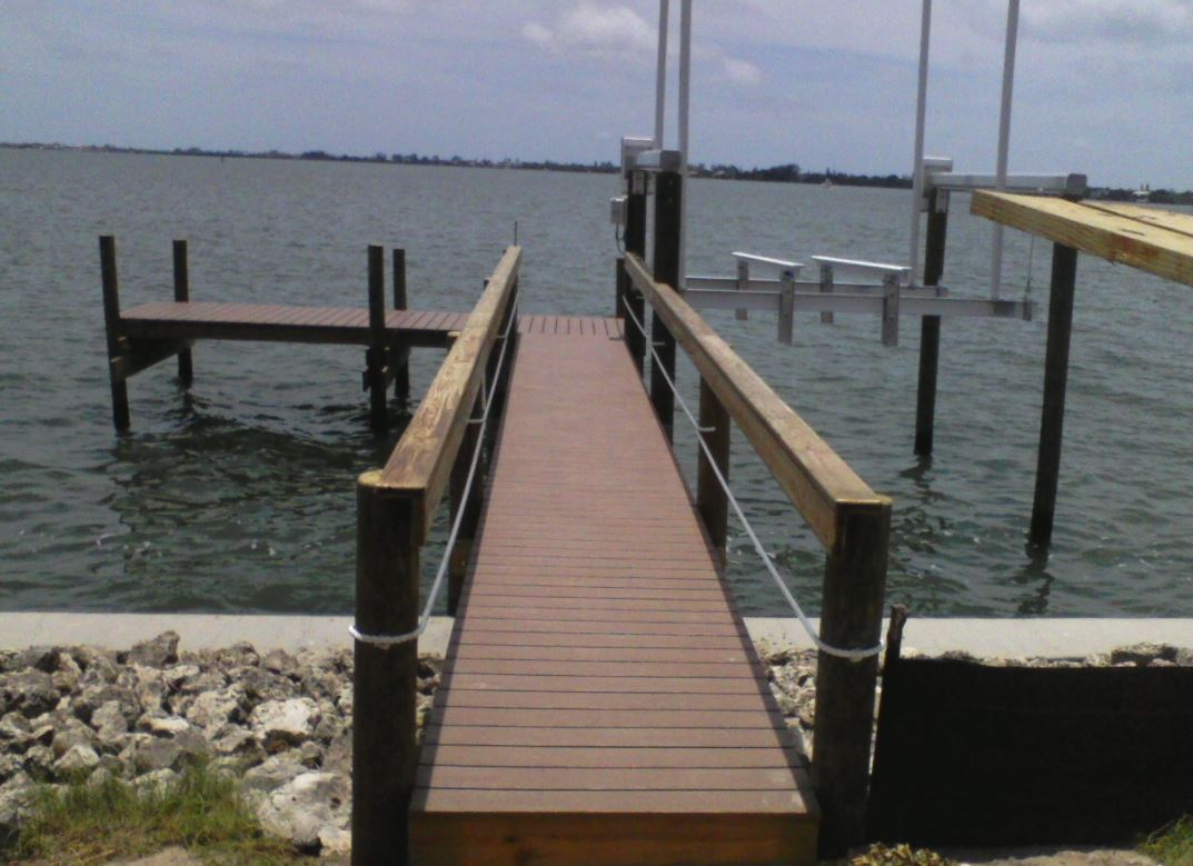 Boat Docks Installations Wood Englewood Fl For A Dock Wiring Diagrams