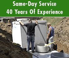 Septic System - Hastings, MI - Joe & Barb's Septic Service