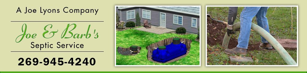 Septic Contractor - Hastings, MI - Joe & Barb's Septic Service