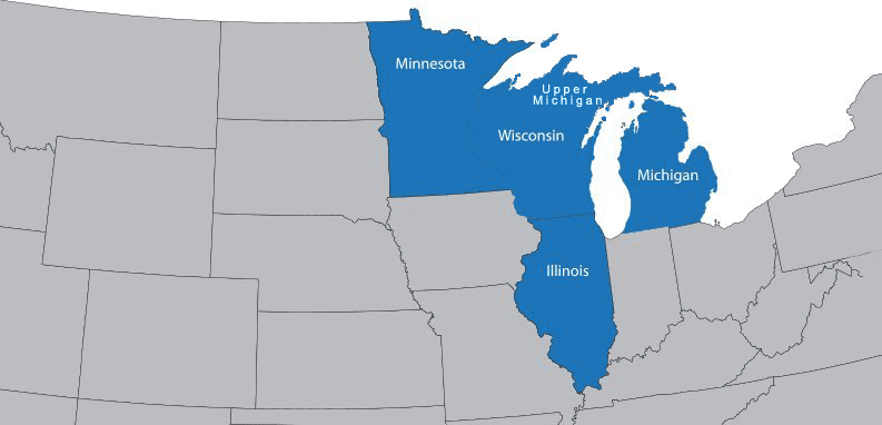Merchants' Choice Card Services LLC   service area map