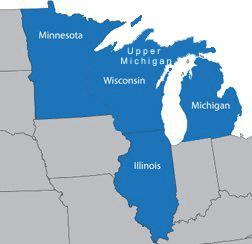 Merchants' Choice Card Services LLC | service area map