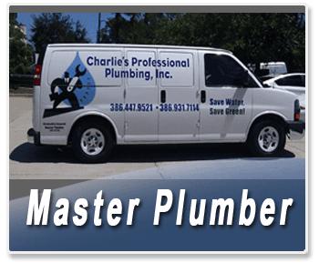 Plumbing Contractor - Palm Coast, FL - Charlie's Professional Plumbing - Master Plumber