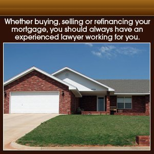 Real Estate Law - Oklahoma City, OK - Collins Law Firm, PC - oklahoma house - Whether buying, selling or refinancing your mortgage, you should always have an experienced lawyer working for you.