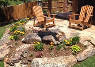Rock Borders | Oklahoma City, OK | A Superior Design Co. | 405-613-5013
