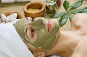 Spa facial mud mask