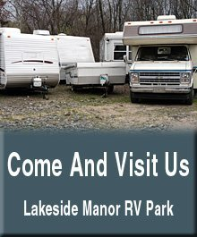 Recreational Vehicle Parks - Mora, MN - Lakeside Manor RV Park - Recreational Vehicle Parks