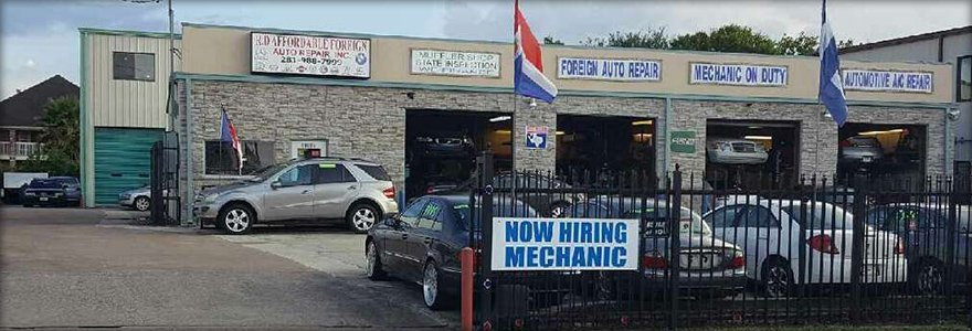 R-D Affordable Foreign Auto Repair Inc. building