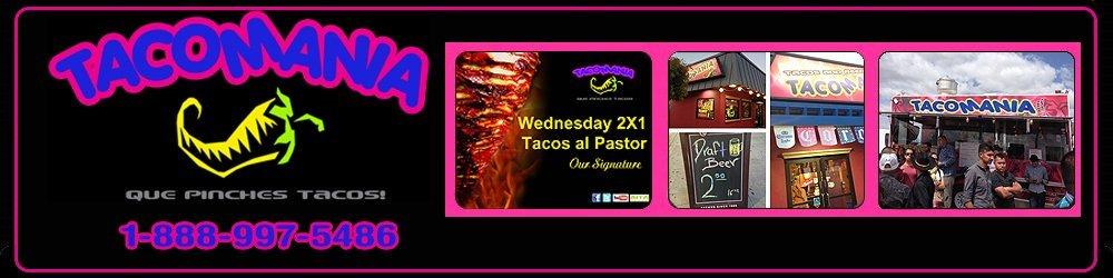 Taco Restaurant San Jose, CA - Tacomania