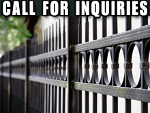 Fencing - Sonora, CA - Straightline Fencing - wrought iron - Call for inquiries