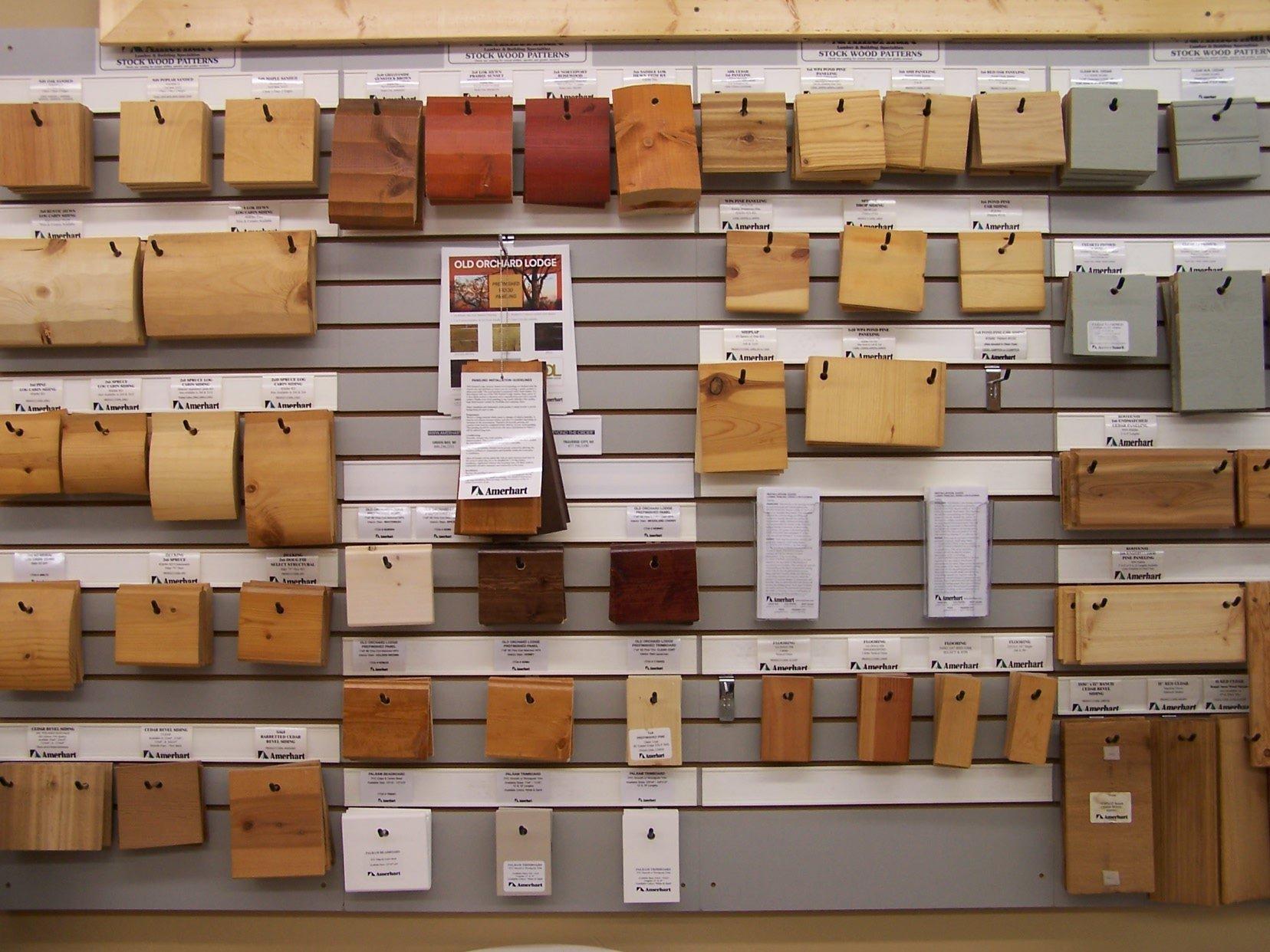 Stock Wood Patterns