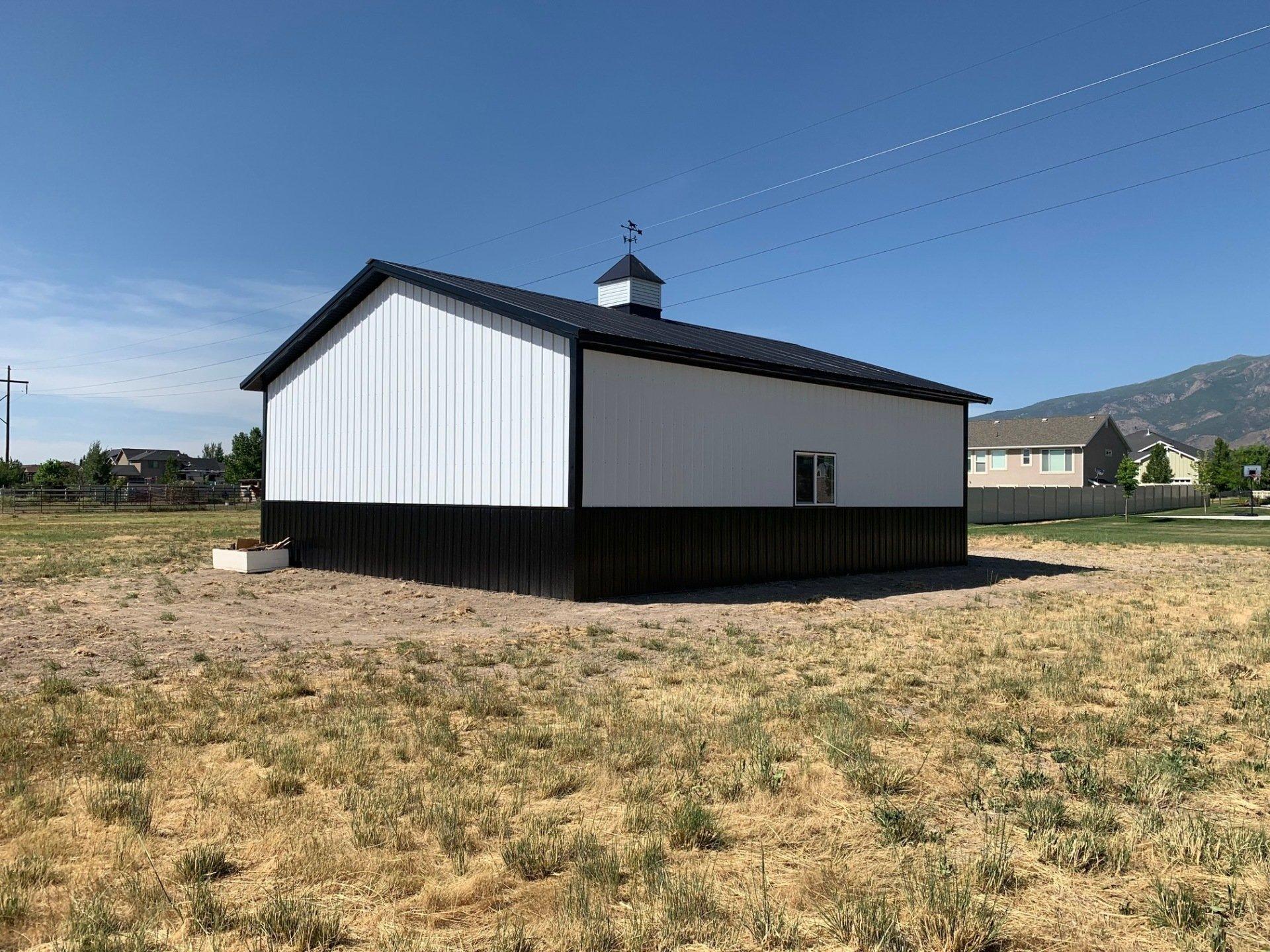 36x50x16 Pole Building Plain City Ut