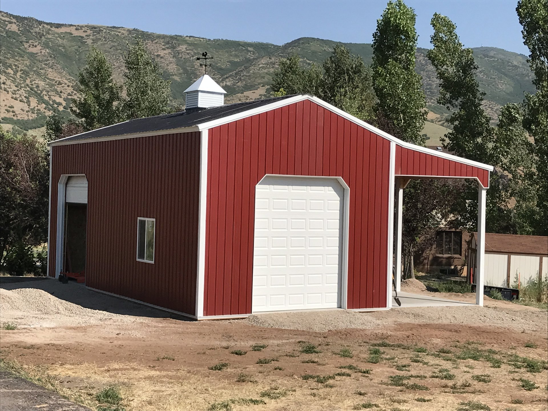 24x40 pole building morgan ut for Pole barn with loft prices