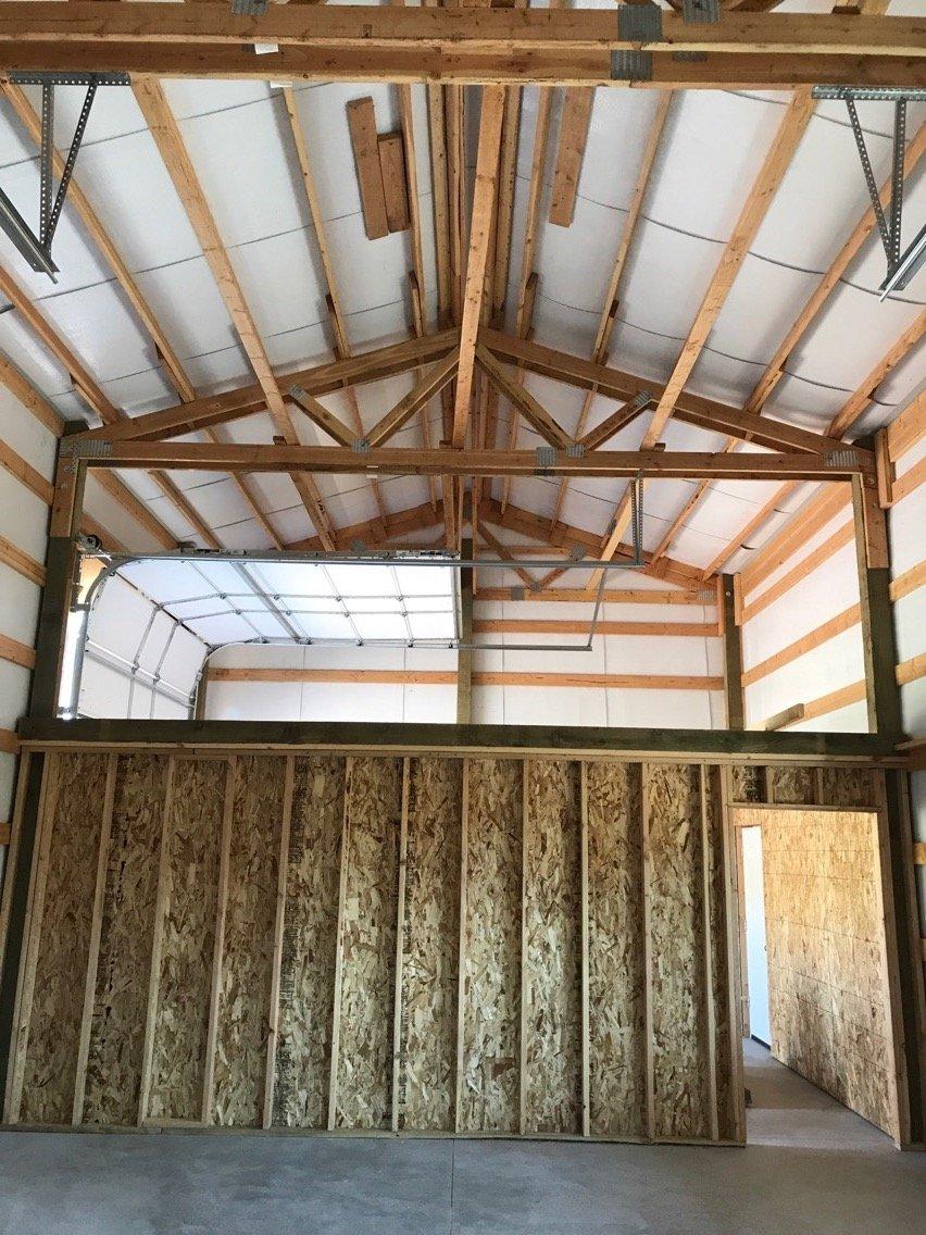 24x40 Pole Building Morgan Ut