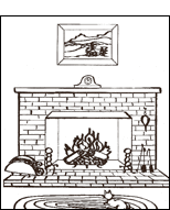 Masonry Fireplace - Pinellas, FL - Suncoast Community Maintenance, Inc. - coloring book 8