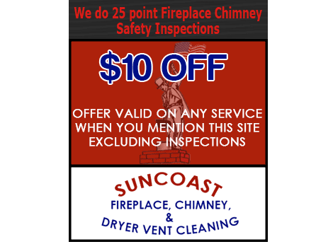 Chimney Repairs - Pasco, FL - Suncoast Community Maintenance, Inc. - 10$ OFF ANY SERVICE (with mention of this site) - We also do 25 Point Inspections!