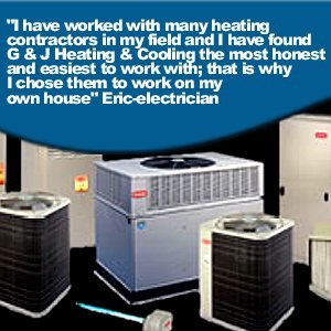 Air Conditioning - Hudsonville, MI  - G & J Heating & Cooling Incorporated  - airconditions -
