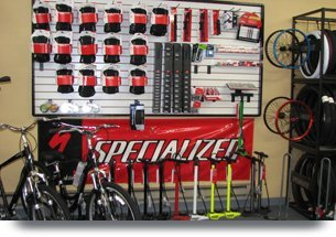 Selection of mountain bikes for sale