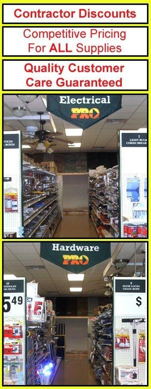 Hardware Supplies - Mifflintown, PA - Juniata Lumber & Supply Company