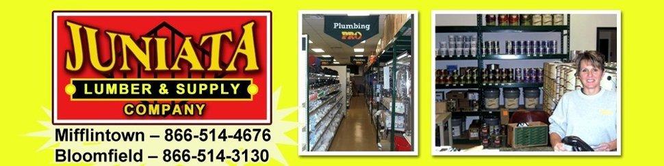 Hardware and Supply Store - Mifflintown, PA - Juniata Lumber & Supply Company