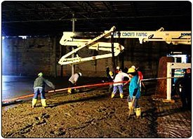 Dumfries, VA - Putzmeister Schwing Concrete Pumps - Grumpy's Concrete Pumping Inc
