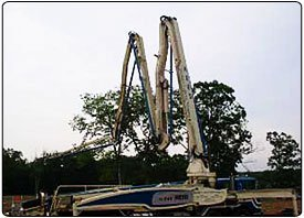 CabinPutzmeister Schwing Concrete Pumps - Grumpy's Concrete Pumping Inc - Dumfries, VA