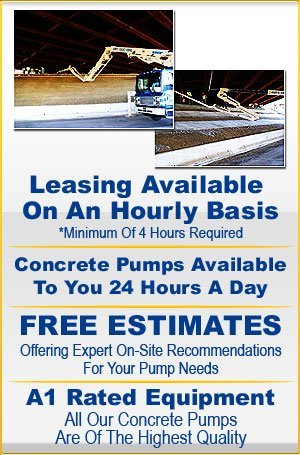 Concrete Trailer Pumps - Dumfries, VA - Grumpy's Concrete Pumping Inc