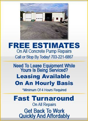 Concrete Truck and Pump Repair - Dumfries, VA - Grumpy's Concrete Pumping Inc