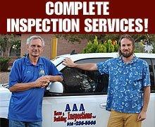 Building Inspection Service - Sierra Vista, AZ - AAA Home And Building Inspections LLC