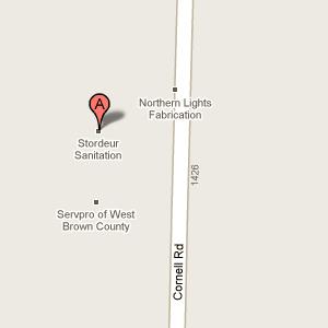 Stordeur Sanitation -1455 Cornell Rd  Green Bay, WI 54313-8925