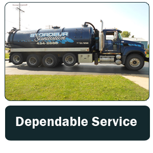 Septic - Green Bay, WI - Stordeur Sanitation - septic tank - Dependable Service