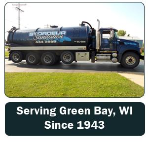 Septic Tank - Green Bay, WI - Stordeur Sanitation - Septic Tank - Serving Green Bay, WI Since 1943