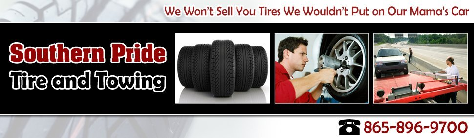 Towing and Tire Services - Southern Pride Tire and Towing - Sevierville, TN