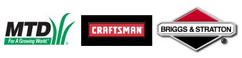 MTD, Craftsman and Briggs & Stratton Logo