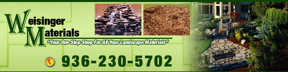 Erosion Control - Conroe, TX - Weisinger Materials
