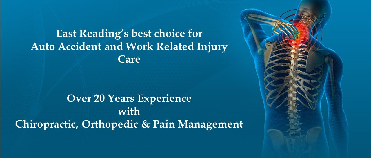 Auto & Work Related Injury Care in East Reading, PA.
