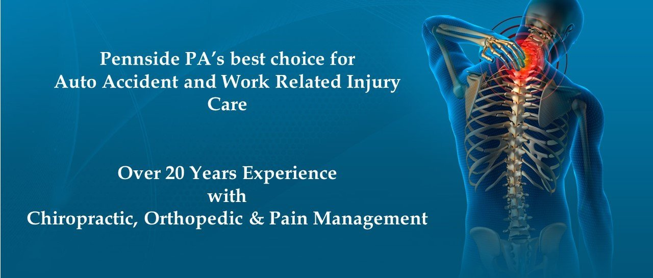 Auto & Work Related Injury Care in Pennside, PA.