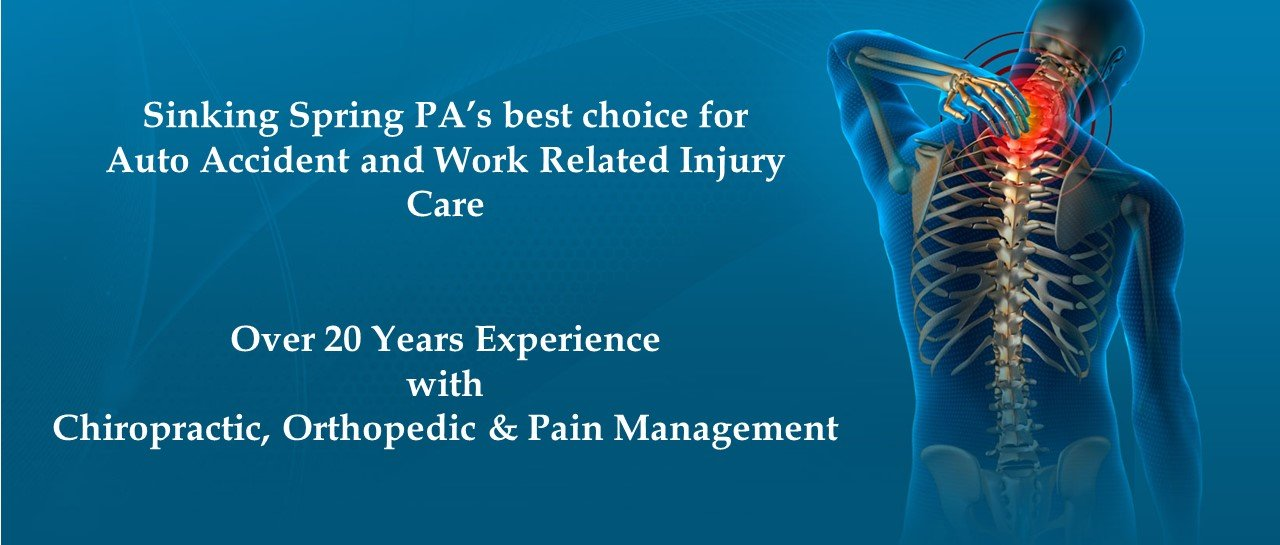Auto & Work Related Injury Care in Sinking Spring, PA.